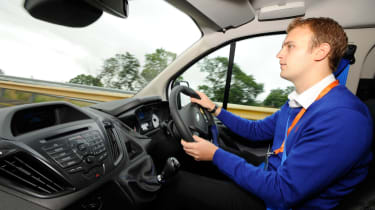 Joe drives 2015 Ford Transit