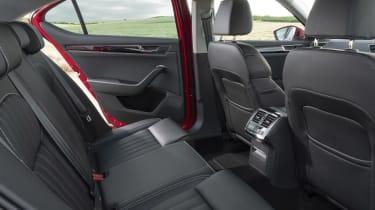 Skoda Superb - rear seats