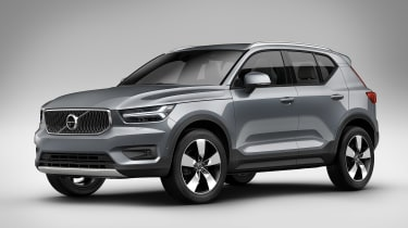 Volvo XC40 - front/side