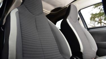 Toyota Aygo - seats