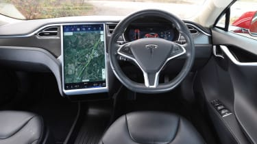 Tesla Model S long-term final report - dash