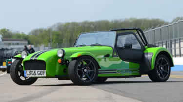 Long-term test review: Caterham 270S - fourth report front quarter
