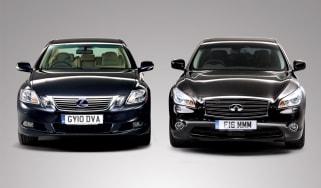 Infiniti M30d vs. Lexus GS450h