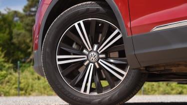 Mazda CX-5 vs Skoda Kodiaq vs VW Tiguan - Volkswagen Tiguan wheel