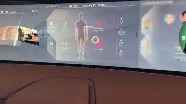 Byton Concept ride - infotainment