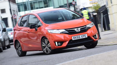 Honda Jazz long-term first report - front action
