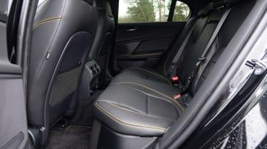 Jaguar XE 300 Sport - rear seats
