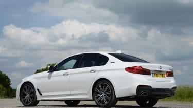 BMW 530e - rear static