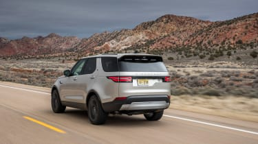Land Rover Discovery 2017 rear tracking
