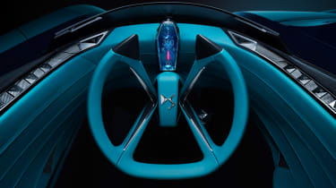 DS X E-Tense concept - steering wheel