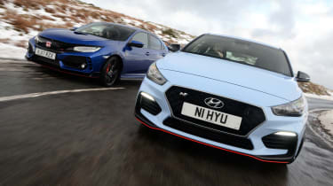 Hyundai i30 N vs Honda Civic Type R - header