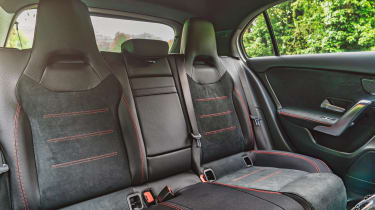 Mercedes A 250 AMG Line - rear seats