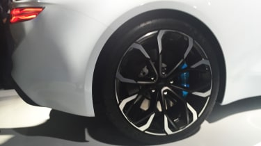 Renault Alpine Vision concept - show reveal wheel