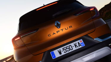 Renault Captur - rear detail