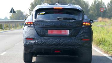 Nissan Leaf 2018 spy shot rear