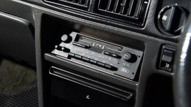 Ford Escort XR3 - tape deck