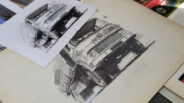 Strokes of genius - Bedford truck