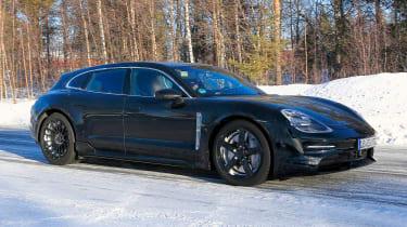 Porsche Taycan Sport Turismo - spyshot 4