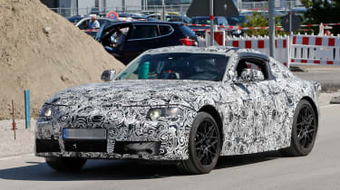 New Toyota Supra front side