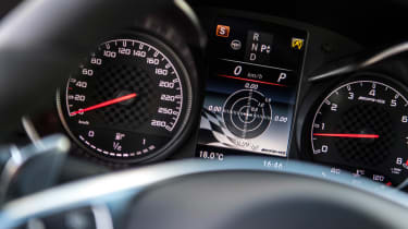 Mercedes-AMG GLC 43 Coupe instruments