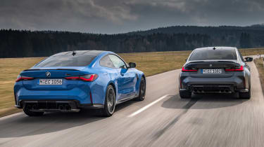 BMW M3 and M4 Competition xDrive - rear action