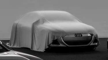 Audi electric car concept - teaser close-up