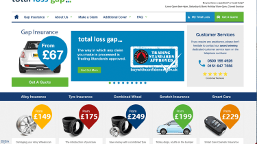 Total Loss GAP insurance