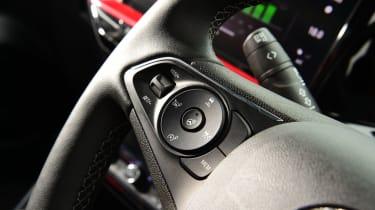 Vauxhall Mokka-e - first report steering wheel controls