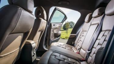 DS 4 Crossback 2016 - rear seats