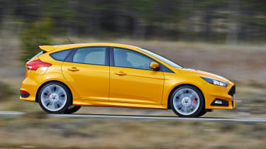 Ford Focus ST diesel side