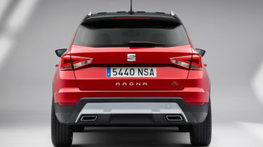 SEAT Arona rear - sponsored