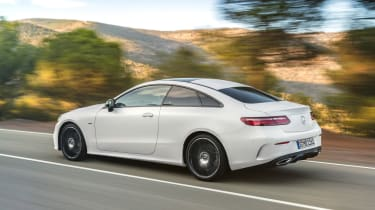 Mercedes E-Class Coupe - AMG Line rear tracking