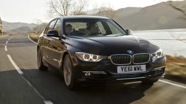 BMW 335i front tracking
