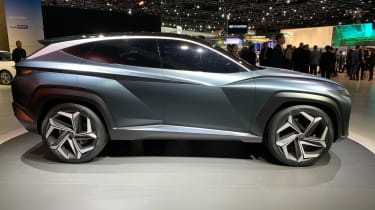 Hyundai Vision T - LA Motor Show side