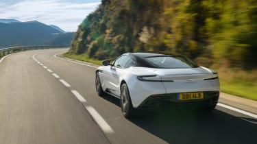 Aston Martin DB11 V8 - rear action