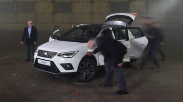 Readers report on SEAT's new Arona (sponsored) - doors open