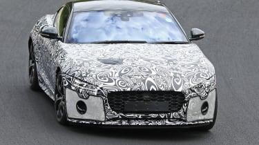 Jaguar F-Type - spied - front cornering