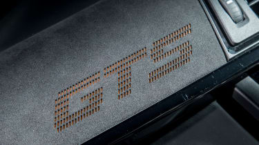 BMW M4 GTS UK 2016 - dashboard detail
