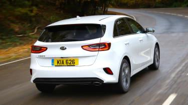 Kia Ceed 1.6 CRDi iMT - rear action