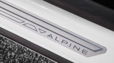 Alpine A110 ride review - detail