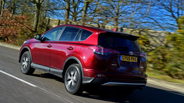 Toyota RAV4 2016 - rear tracking