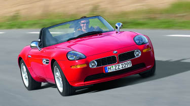 BMW paid tribute to the 507 of 1956 by launching the Z8 in 2000.