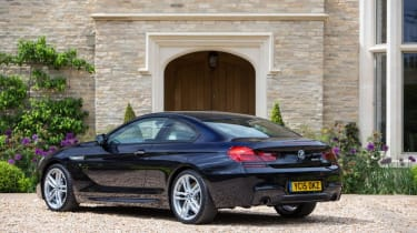 Used BMW 6 Series - rear