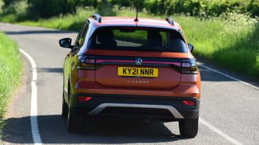 Volkswagen T-Cross Black Edition - rear action