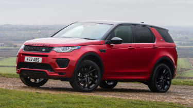 Land Rover Discovery Sport - front static