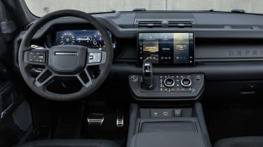 Land Rover Defender V8 - dash