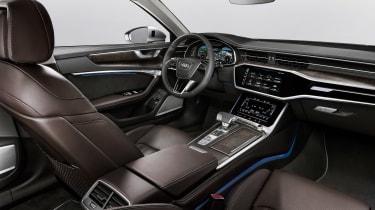 New Audi A6 - studio cabin