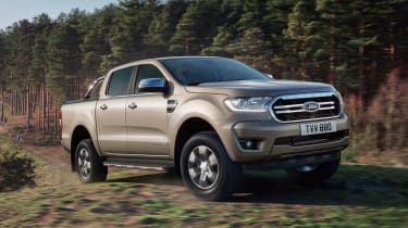 Ford Ranger Limited - front