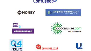 Insurance comparison websites - header