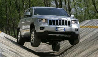Jeep Grand Cherokee off-roading